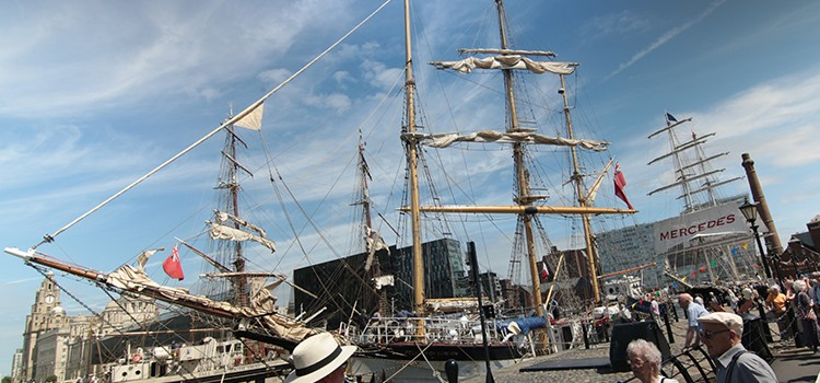 Liverpool Echo: MAST's tall ships race 'biggest of kind in UK'